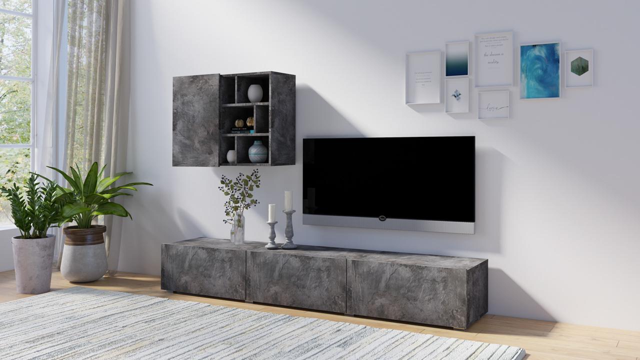 MEBLINE Systémový nábytek AKSEL 09