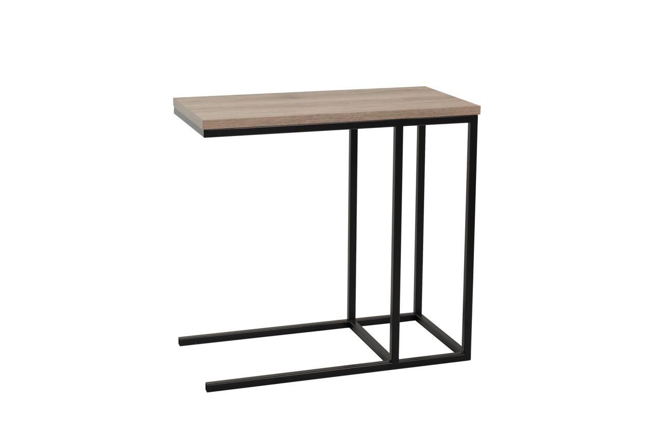 MEBLINE Konferenční stolek ASTI San Remo / Černý