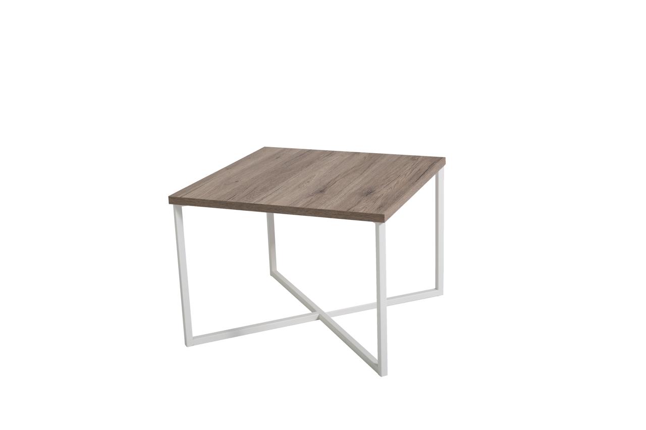 MEBLINE Konferenční stolek PRATO San Remo / Bílý