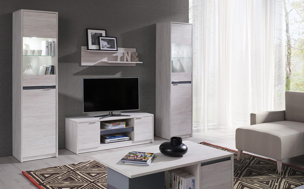 MEBLINE Módní nábytek pro obývací pokoj DENVER 3