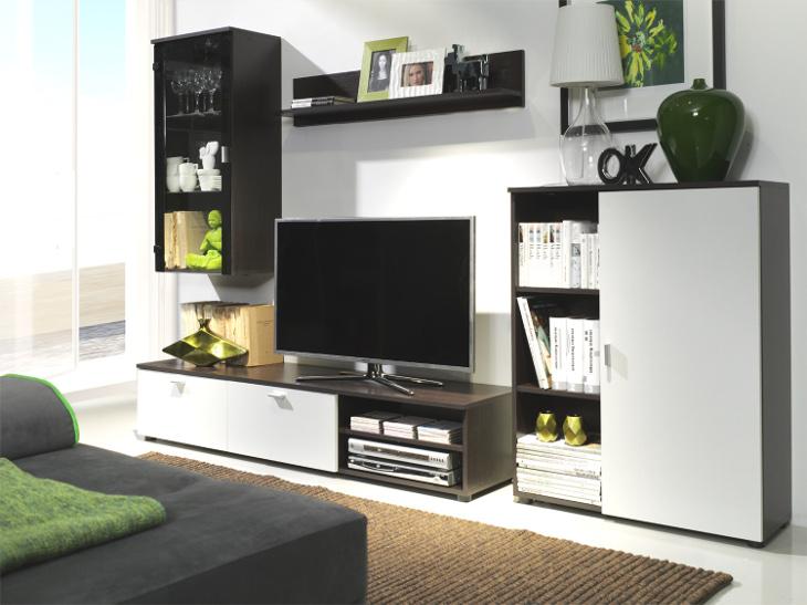 MEBLINE Nábytek do obývacího pokoje BAMBI 3