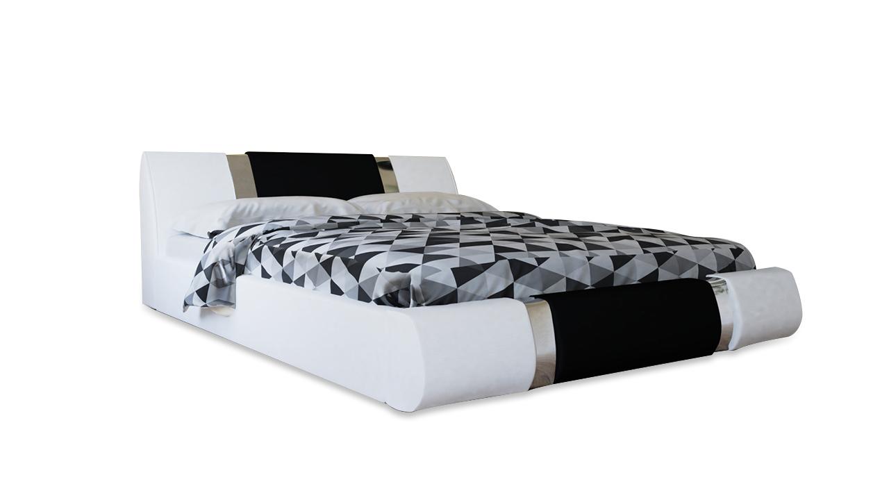 MEBLINE Čalouněná postel ENNA 120x200