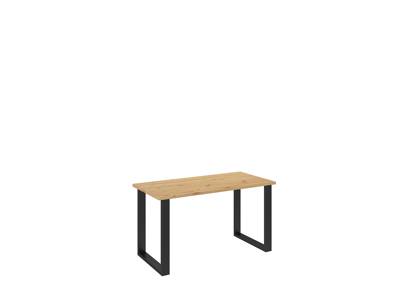MEBLINE Jídelní stůl 138x67 dub artisan