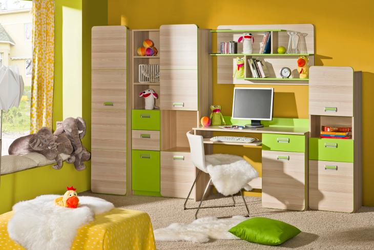 MEBLINE Levný nábytek do dětského pokoje LORENTO 2