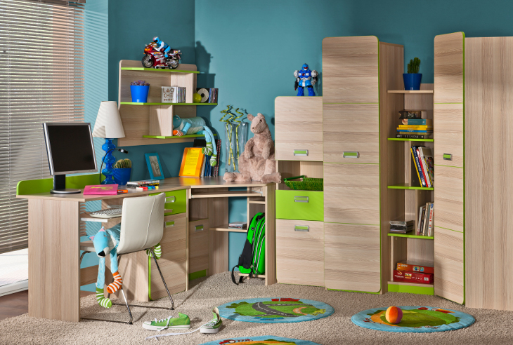 MEBLINE Stylový nábytek do dětského pokoje LORENTO 5