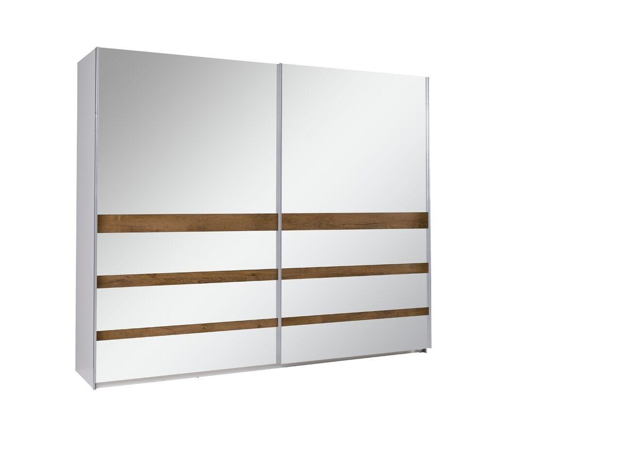 MEBLINE Šatní skříň s posuvnými dveřmi LUX 23