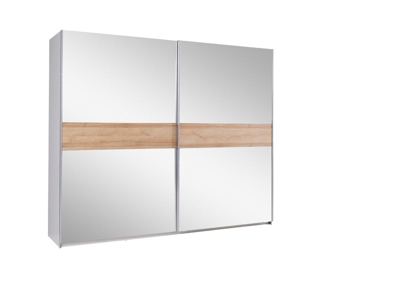 MEBLINE Šatní skříň s posuvnými dveřmi LUX 24