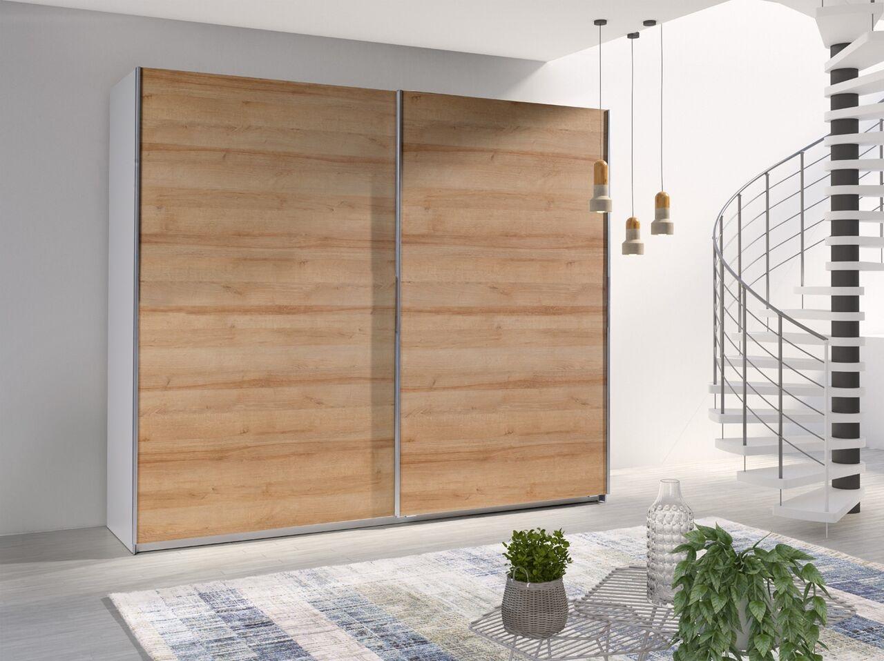 MEBLINE Šatní skříň s posuvnými dveřmi LUX 25