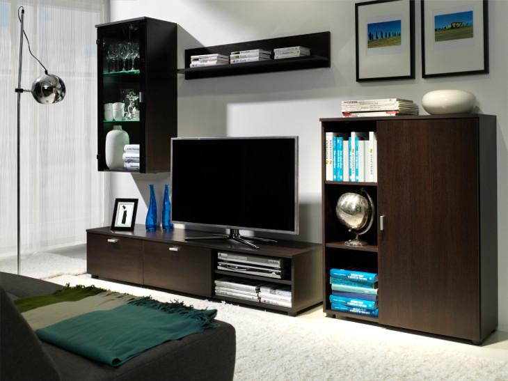 MEBLINE Nábytek do obývacího pokoje BAMBI 2