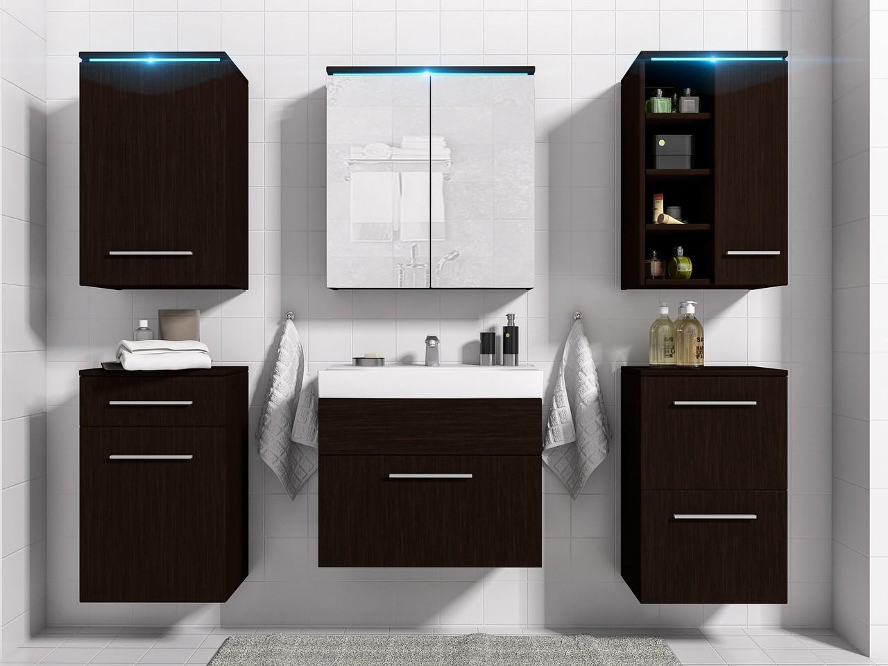 MEBLINE Moderní koupelna MEGI wenge