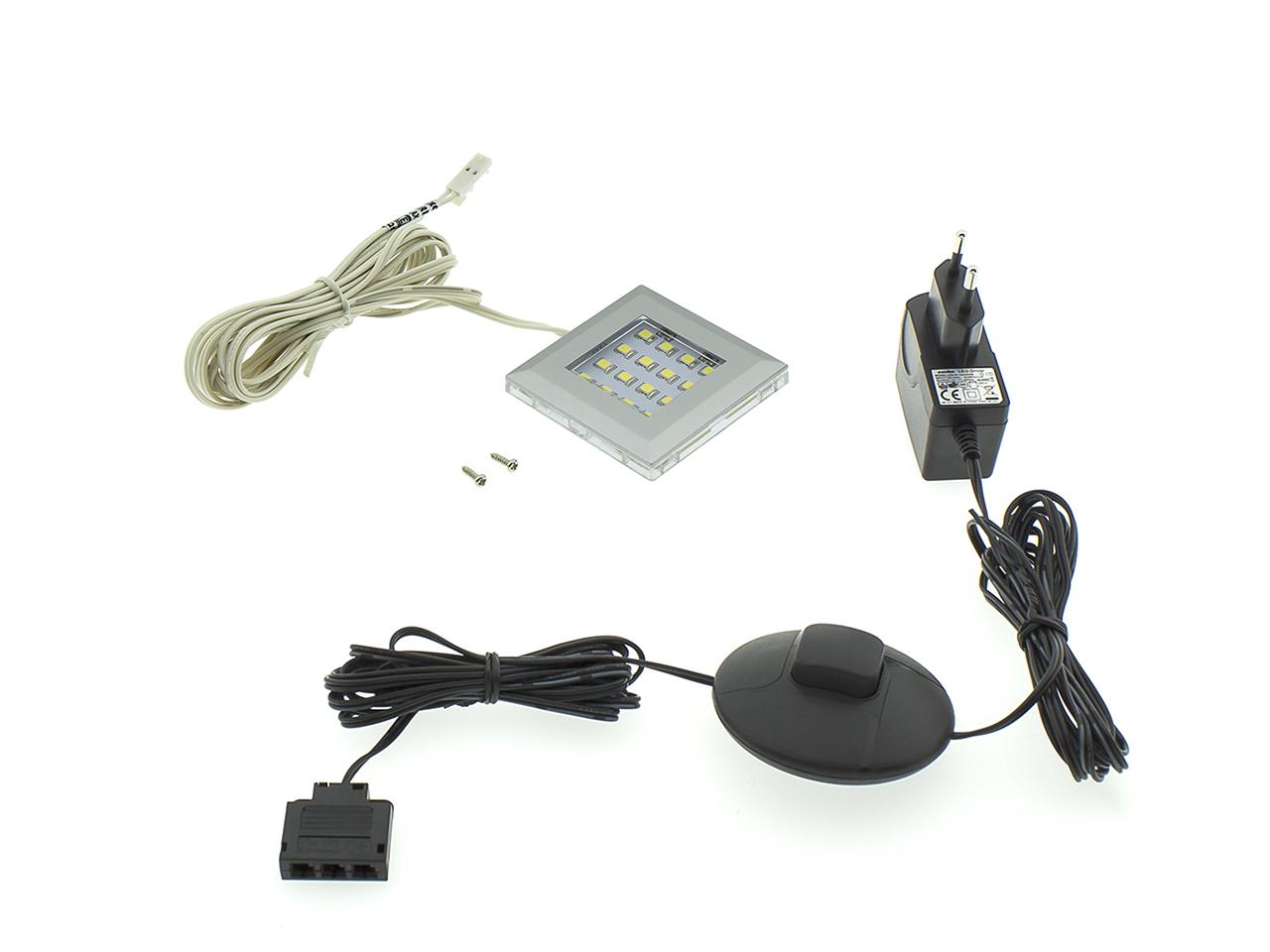 MEBLINE LED osvětlení QUATRO 1P bílé