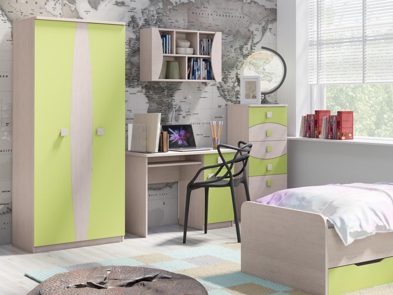 MEBLINE Nábytek do dětského / studentského pokoje TENUS 6