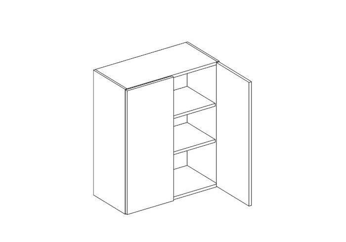 MEBLINE Skříňka horní W60 - Lungo